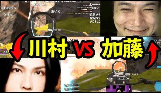 【Apex】加藤純一と戦場で出会う蛇足の兄貴