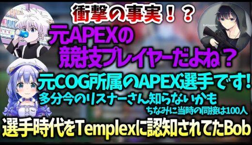 【Apex】TemplexにAPEX選手時代を認知されていて大喜びするBobSappAim