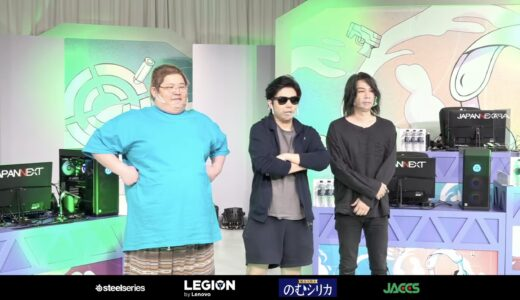 【速報】『RAGE PARTY 2021 Autumn』第4試合、人気ゲーム配信者 VS カワセと美女 が対戦!!