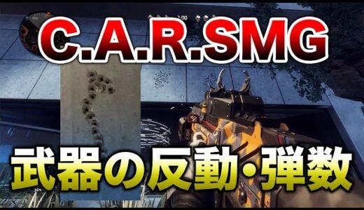 【解説】新武器『CAR SMG』 反動・弾数性能紹介!!【APEX】