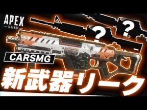 【リーク情報】今後実装されそうな武器3種類リーク!!